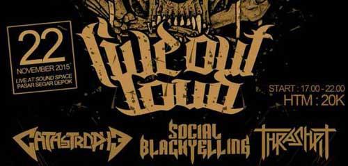 Live Out Loud 2015 di Depok