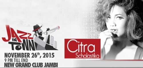Citra Scholastika Tampil di Jazz In Town