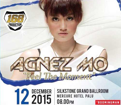 """Konser-Agnes-Mo-""""Feel-The-Moment""""_2"""