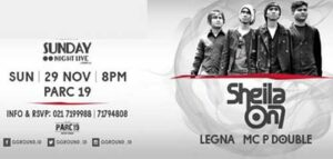 Sunday Night Live with Sheila on 7 di Kemang