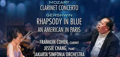 Concert Mozart & Gershwin Persembahan Aula Simfonia Jakarta