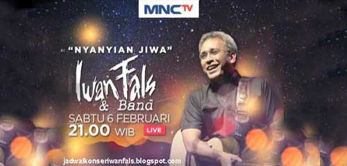 Konser Nyanyian Jiwa Iwan Fals & Band Live di MNC TV