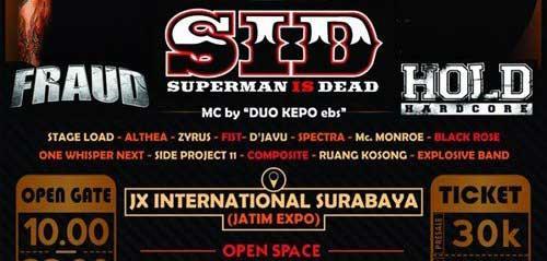 Heroical Vol.1 Konser Superman Is Dead di Surabaya