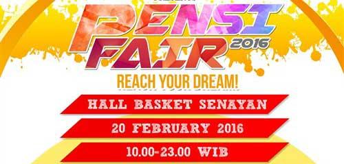 Reach Your Dream di Pensi Fair 2016