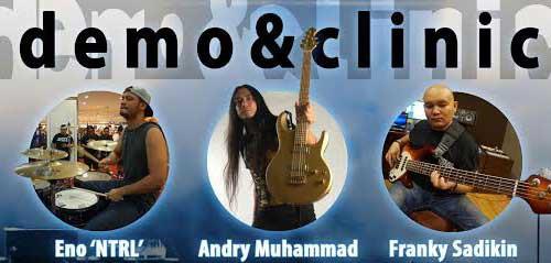 Tambah Wawasan Bermusikmu di Demo Music & Clinic