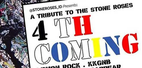 """A Tribute To The Stone Roses """"4th Coming""""di Kemang Jakarta"""