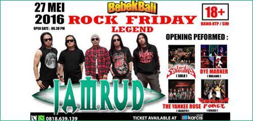 Nge-rock Bareng di Jamrud Rock Friday Legend Concert 2016