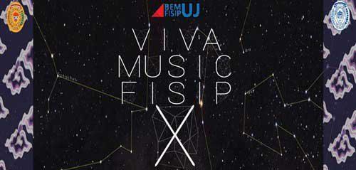 BEM FISIP UJ Gelar Acara Viva Music FISIP X