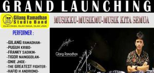 Grand Launching Gilang Ramadhan Studio Band