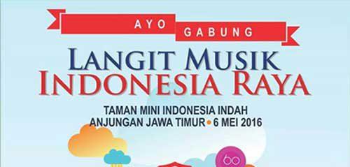Langit Musik Indonesia Raya di Taman Mini Indonesia Indah