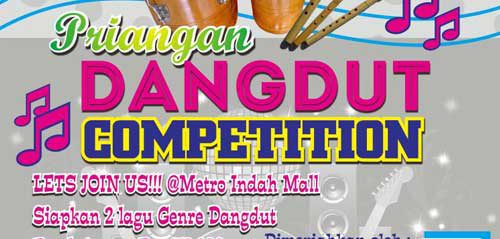 Priangan Dangdut Competition di Metro Indah Mall Bandung