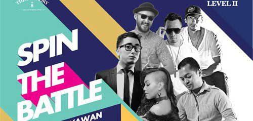 Winky Wiryawan Meriahkan Spin The Battle