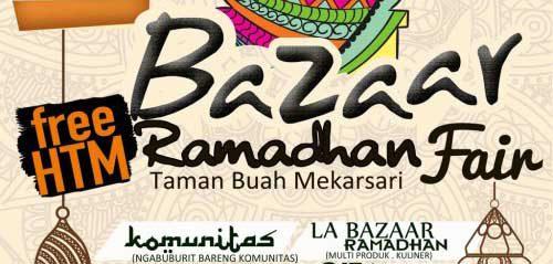 Alunan Gita Ramadhan di Bazaar Ramadhan Fair 2016 Taman Buah Mekarsari