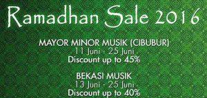 Beli Alat Musik Dengan Diskon Gede-gedean di Roadshow Ramadhan Sale 2016