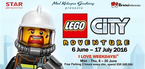 Ngabuburit Dengerin Tulus Nyanyi di LEGO City Adventure