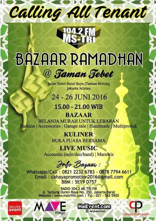 Ngabuburit-di-Bazaar-Ramadhan-Tebet,-Belanja-Sambil-Lihat-Penampilan-Band-&-Marawis_2
