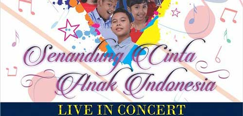 Regina Idol Bintang Tamu di Senandung Cinta Anak Indonesia Live in Concert