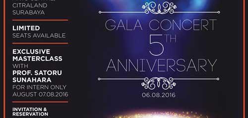 Pagelaran Dari Orenji Music School Memperingati Gala Concert 5th Anniversary