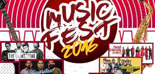 Panggung Indiespot & Jazzspot di MusicFest 2016