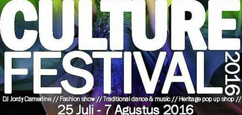 Semarak Aksi DJ Jordy Camerline di Culture Festival 2016