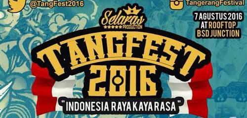 Tangfest 2016 dimeriahkan oleh Private Number & DJ Bagus