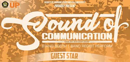Good Day with Good Sound Bersama Sore di Sound of Communication
