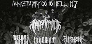 Panggung Musik Metal Anniversary Go To Hell #7 Hadirkan Taring & Arrogant