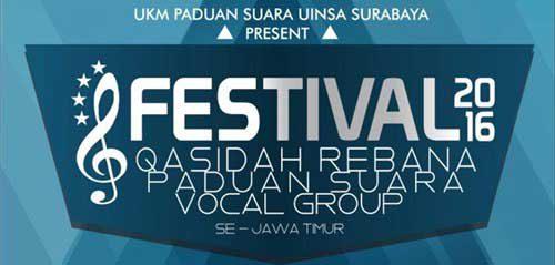UIN Sunan Ampel Gelar Festival Qasidah Rebana, Paduan Suara & Vocal Group Se-Jawa Timur