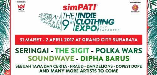 The Sigit Tampil di Panggung Musik SIMPATI The9th ICE