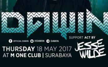Dawin Tampil di M1 Club Surabaya