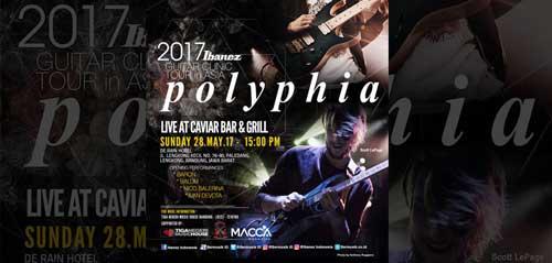 Ibanez Gelar Tour Band Polyphia di Bandung