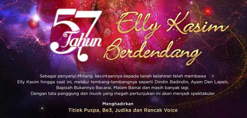 57 Tahun Elly Kasim Berdendang