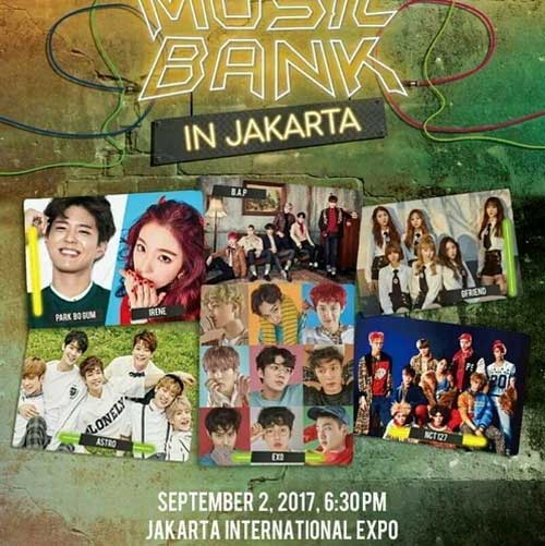Music Bank in Jakarta 2017