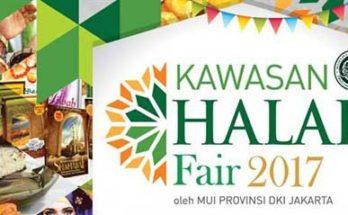 Kawasan Halal Fair 2017