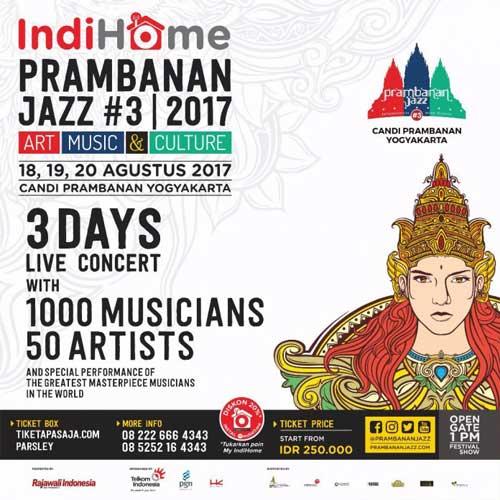 Prambanan Jazz #3 2017