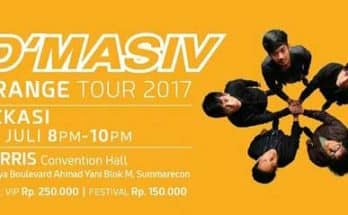 D'Masiv Orange Tour