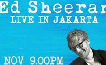 ED Sheeran Live In Jakarta