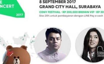 LINE Concert Surabaya 2017