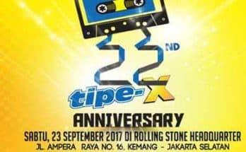 Tipe-X Konser 22 Tahun Berkarya