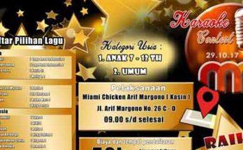 Karaoke Contest Miami Chicken