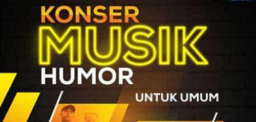 """Konser Musik Humor """"Tertawa & Bergoyang"""""""