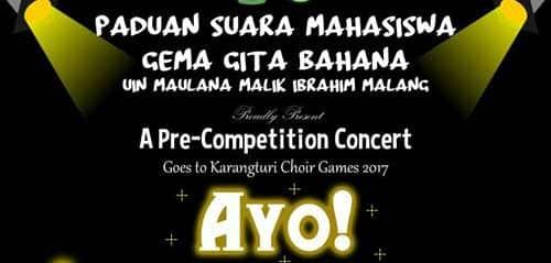 A Pre-Competition Concert