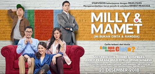 Milly & Mamet: Kisah Komedi Romantis Keluarga Muda