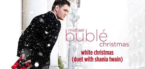 White Christmas - Michael Bublé Ft. Shania Twain