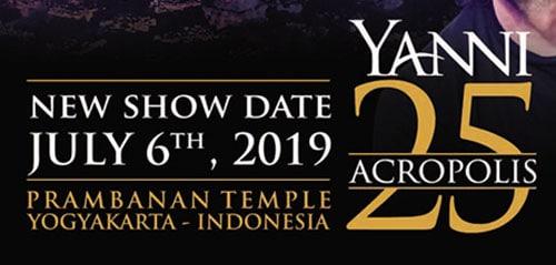 Konser 25th Anniversary Acropolis Berlatar Megahnya Candi Prambanan