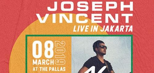 Konser Tunggal Joseph Vincent di The Pallas, SCBD, Jakarta