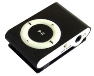 Universal Shuffle MP3 Player-Hitam