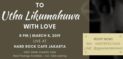 To Utha Likumahuwa With Love